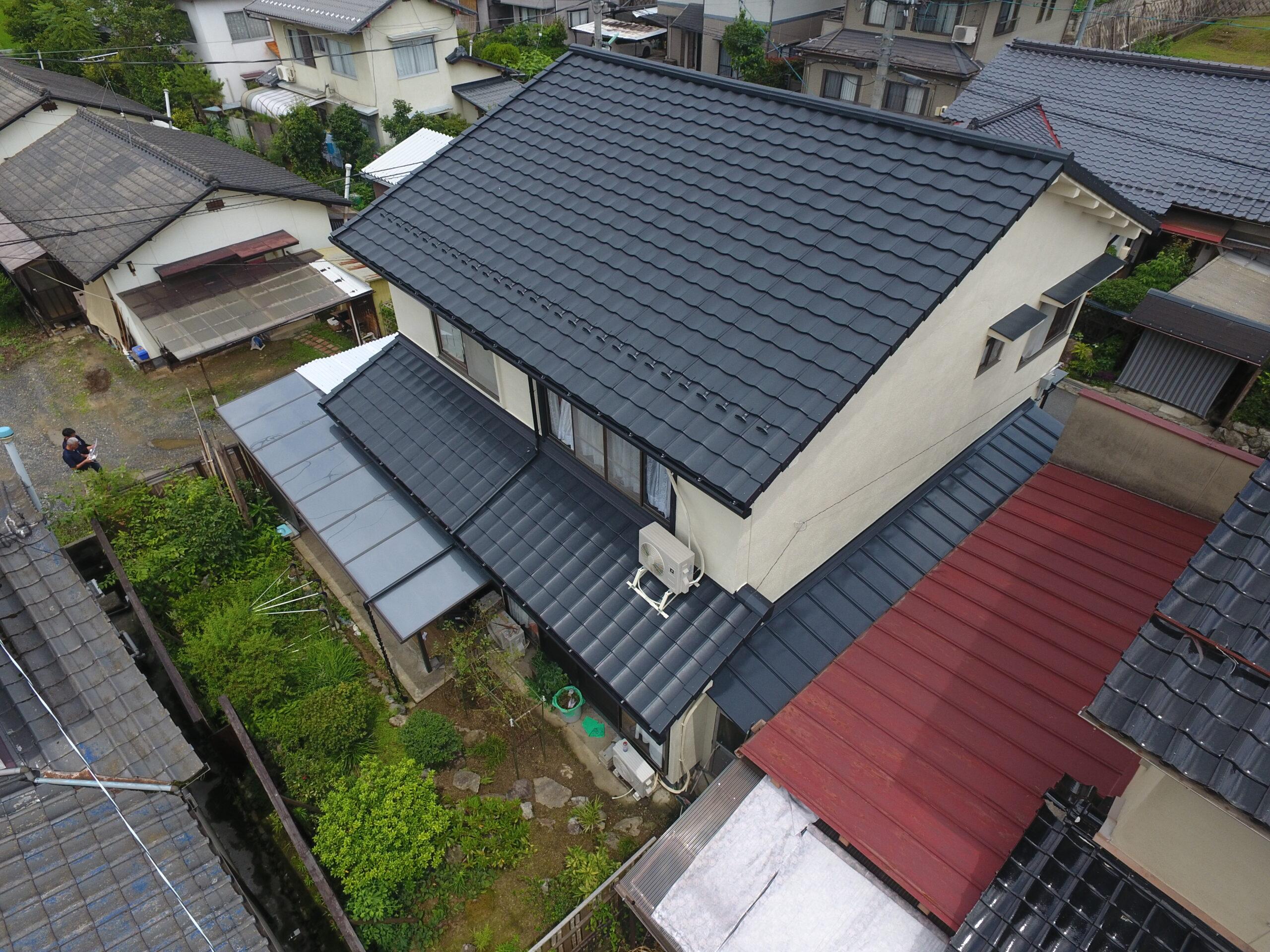 TM様邸(屋根・樋・外壁)修繕工事