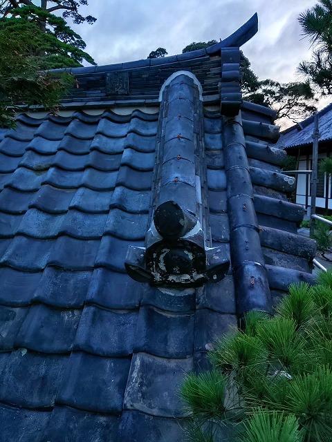 宮城県の地震でお寺の屋根修繕工事をしました